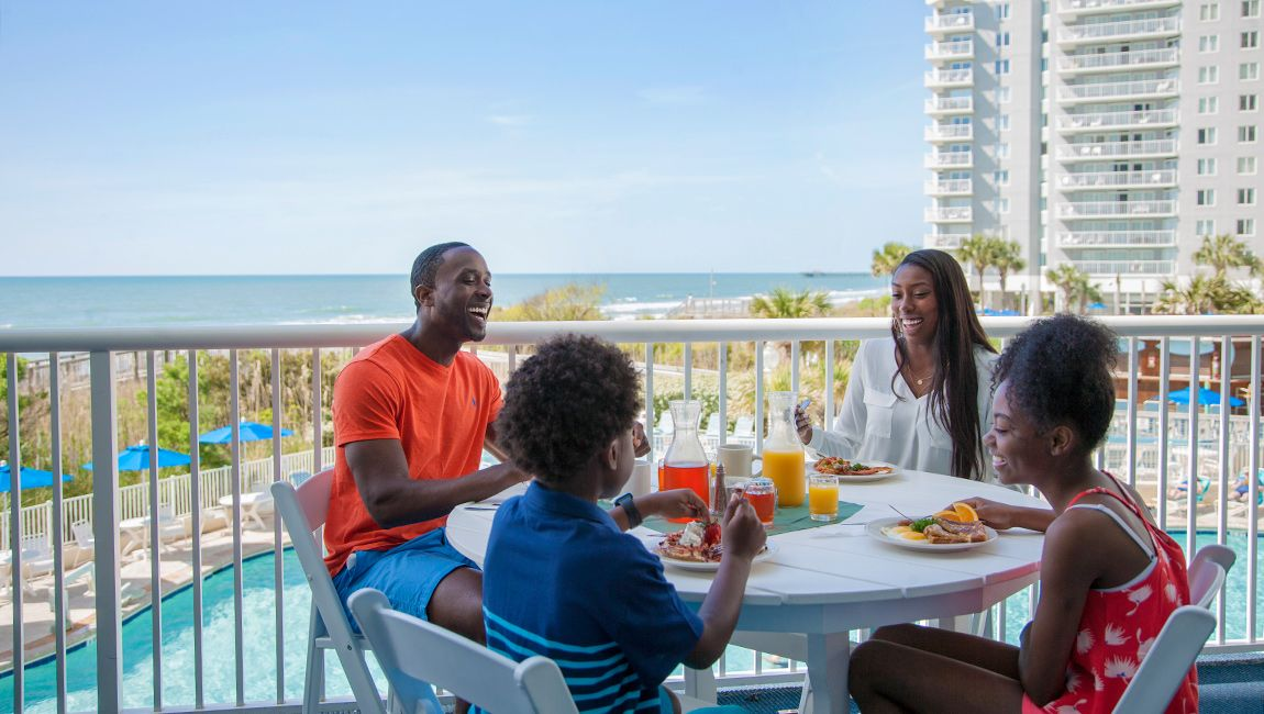 Myrtle Beach Breakfast Veranda