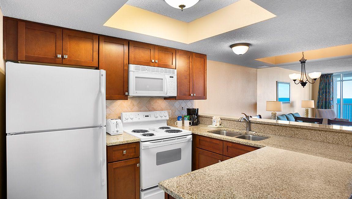 Oceanfront Two Bedroom Kitchen
