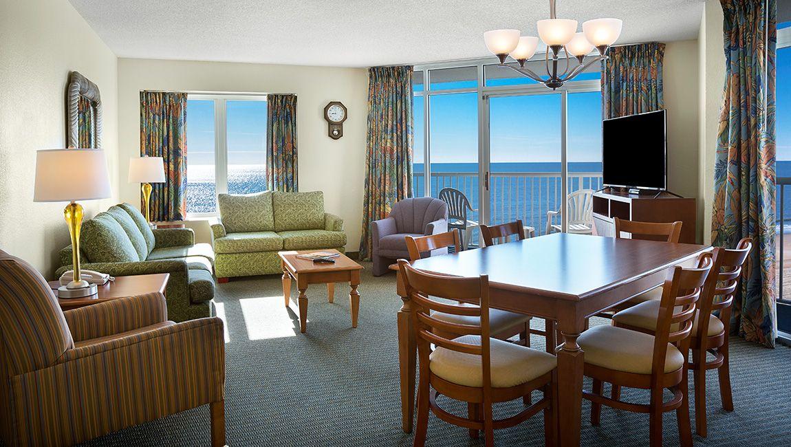 2 Bedroom Sea Watch Living Area
